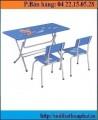 Bàn ghế mẫu giáo BMG101B-2-GMG101B-2