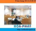 Vách ngăn văn phòng , vách ngăn gỗ VG01