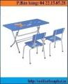 Bàn ghế mẫu giáo BMG101A–GMG101A